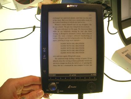 Фото Sony PRS-500 Reader