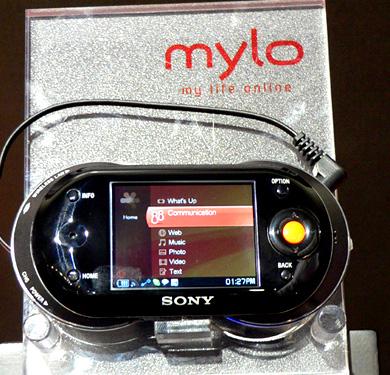 Sony mylo