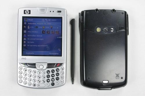 HP iPAQ hw6915 - Вид коммуникатора
