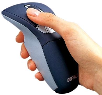 Мышка для компьютера Buffalo BOMU-W24A/BL