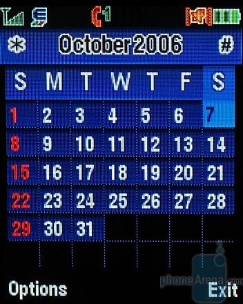 MOTOKRZR K1 - Календарь