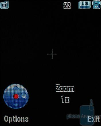MOTOKRZR K1 - Интерфейс камеры