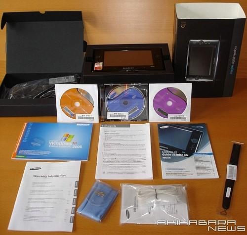 Samsung Q1 - внутри коробки