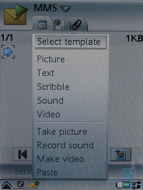 Sony Ericsson P990i - MSS редактор
