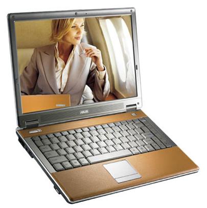 Роскошный ноутбук Asus W6Fp