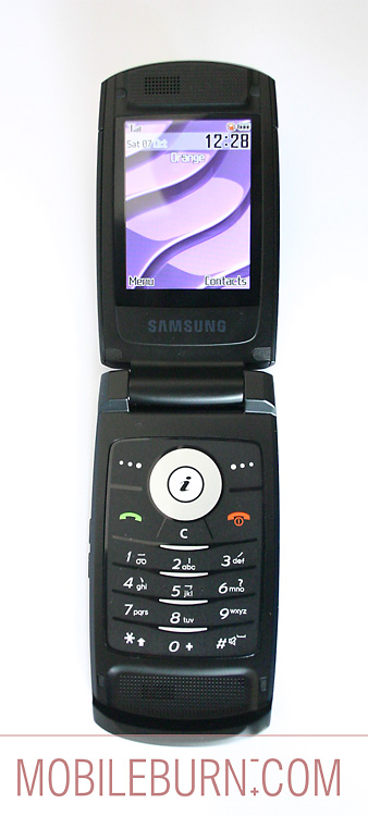 Samsung D830 - Полный вид