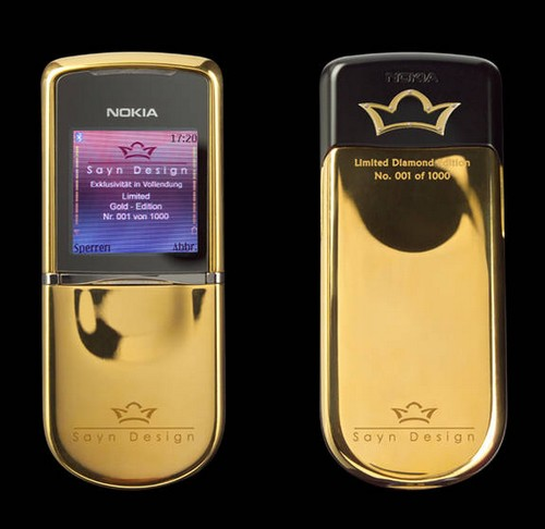 Nokia 8800 Sirocco: Diamond Edition