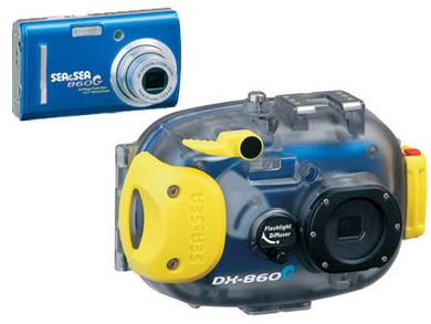 Цифровая фотокамера SeaSea DX-860G