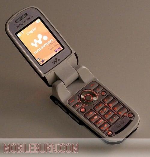 Sony Ericsson w710 - внутренняя подсветка
