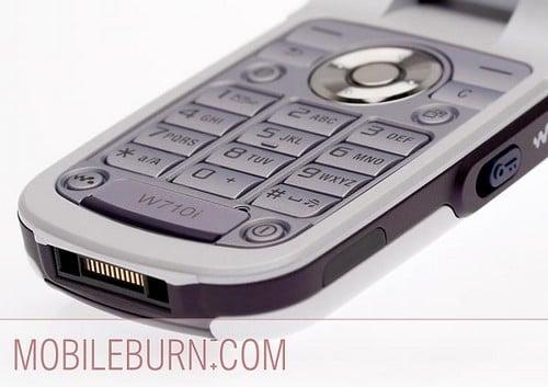 Sony Ericsson w710 - клавиатура