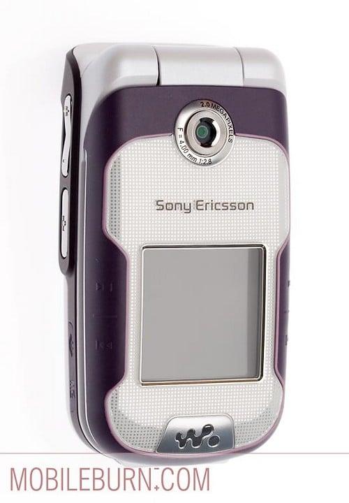 Sony Ericsson w710 - лицевая панель