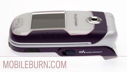 Sony Ericsson w710 - справа