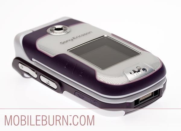 Sony Ericsson w710 - вид сбоку