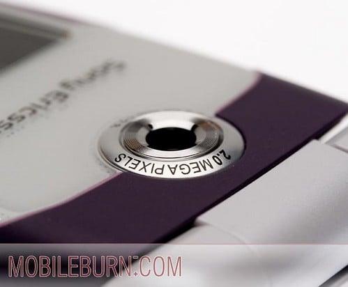 Sony Ericsson w710 - камера