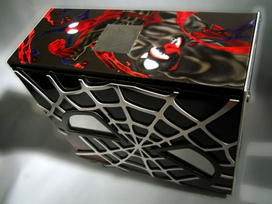 Spiderman 3 модинг системного блока, фото 3