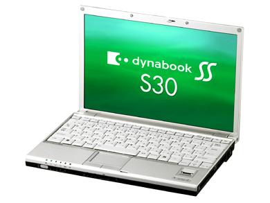 Ультрапортативный ноутбук Toshiba DynaBook SS S30