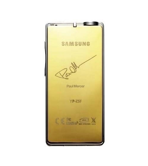 Samsung YP-Z5   - Задняя панель