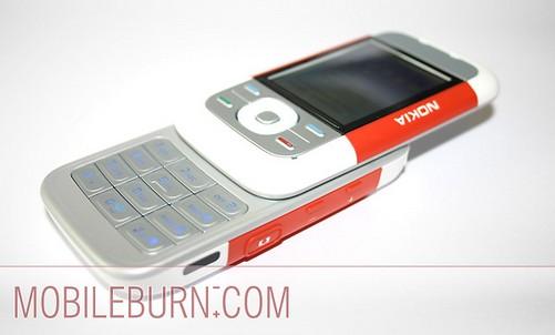Nokia 5300 - В разложеном виде