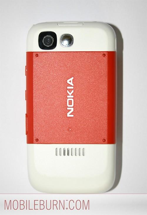 Nokia 5300 - Тыльная панель