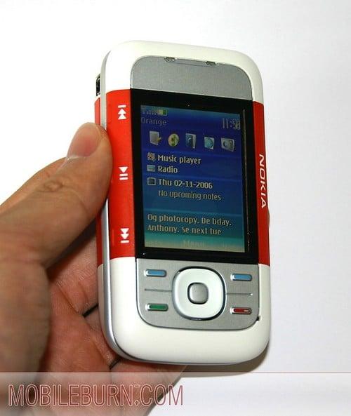Nokia 5300 - Экран