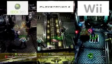 Сравнение графикина приставках Nindendo Wii, Sony Play Station 3, Xbox 360