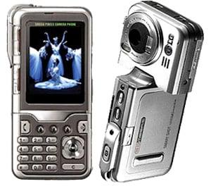 Камерафон LG KG920 с 5 мегапиксельной камерой