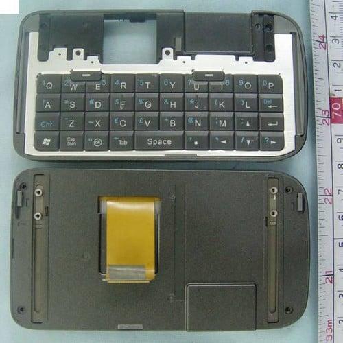 O2 XDA Zinc - Клавиатура