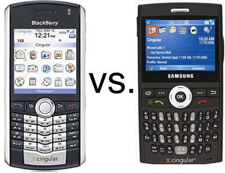 BlackBerry VS BlackJack