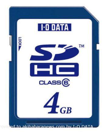 SDHC на 4 Гб