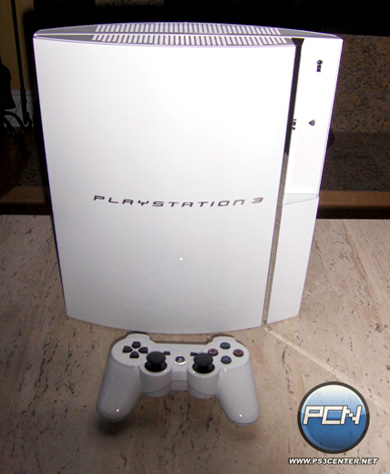 Белая PlayStation