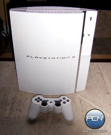Белая PlayStation