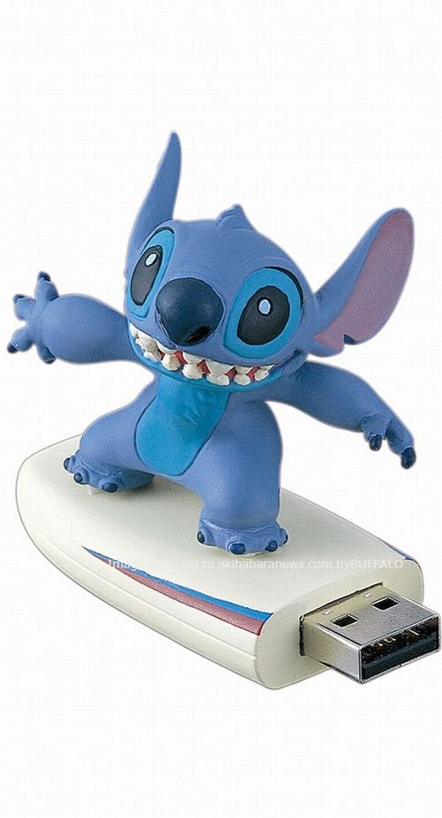 Три диснеевских USB привода от компании Buffalo