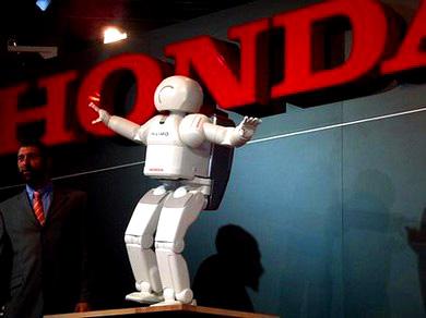 CES2007: Робот Honda ASIMO