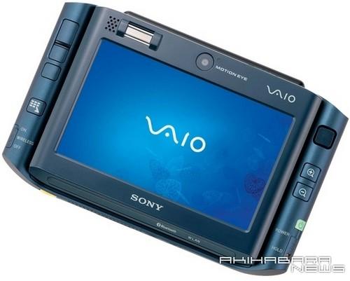 Sony VAIO UX, синий 2