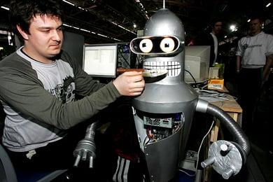 Системный блок в виде персонажа из мультфильма