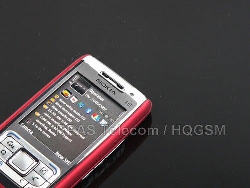 Nokia E65, фото 5