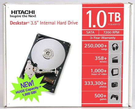 Hitachi Deskstar 7K1000