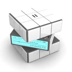 mp3-плеер в кубике рубика