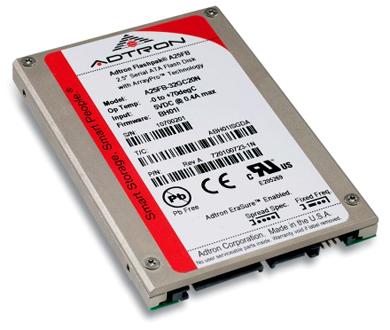 2.5 дюймовый SSD Flash накопитель