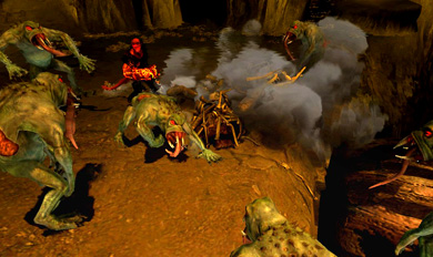Трейлер игры Hellboy