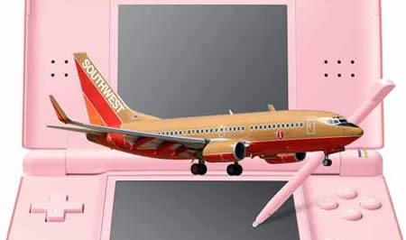 Southwest Airlines  Nintendo DS Lite