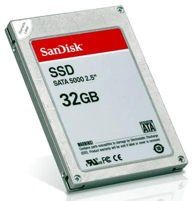 SanDisk 32 Гб SSD SATA 5000