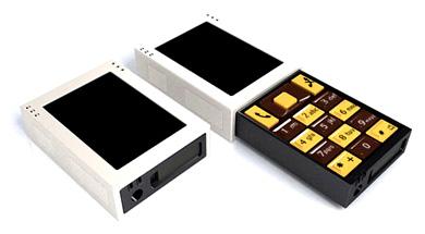 Сотовый телефон с коробок спичек