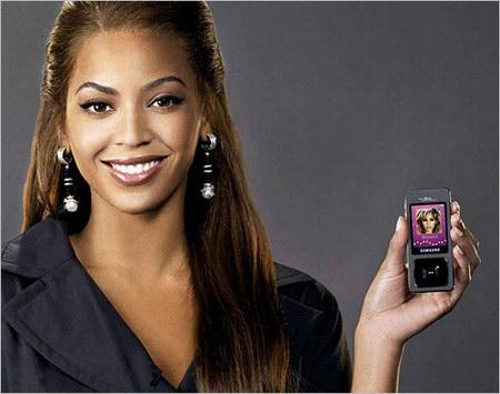 Beyonce Samsung Ultra Music F300