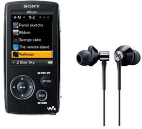Черный Walkman