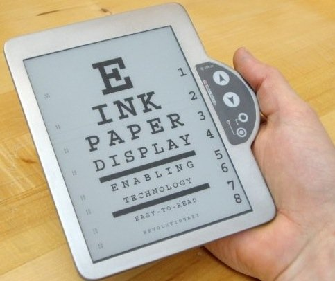 E Ink blueChute
