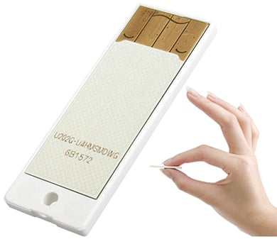 самый маленький в мире USB накопитель