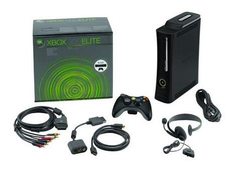 Xbox 360 Elite коробка