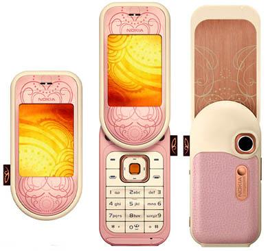 Nokia 7373 - Розовый корпус