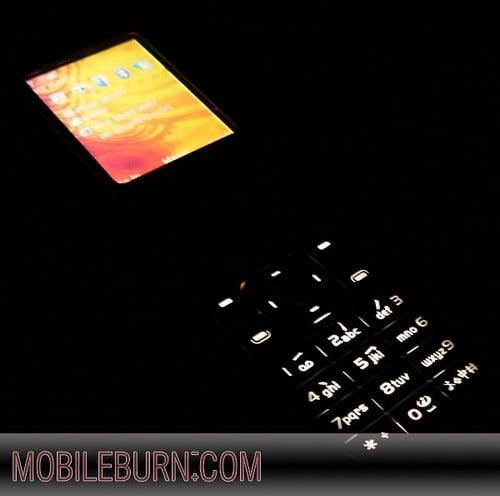 Nokia 7373 - подсветка